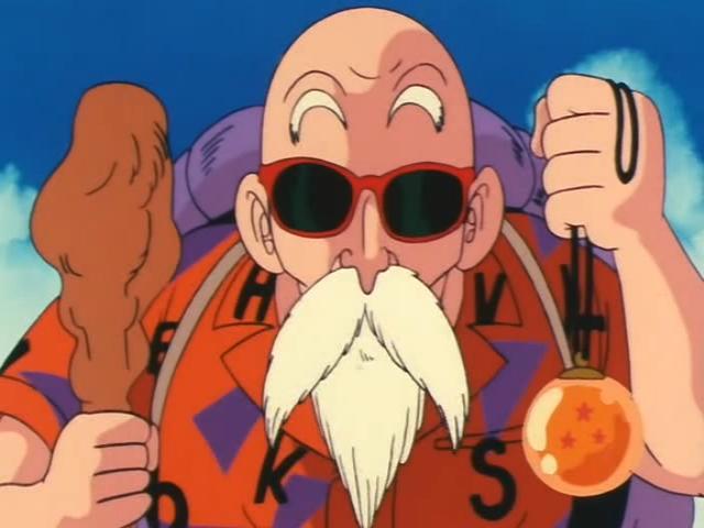 Master roshi goes balls out retrodbzccg